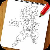 How to Draw Dragon Goku