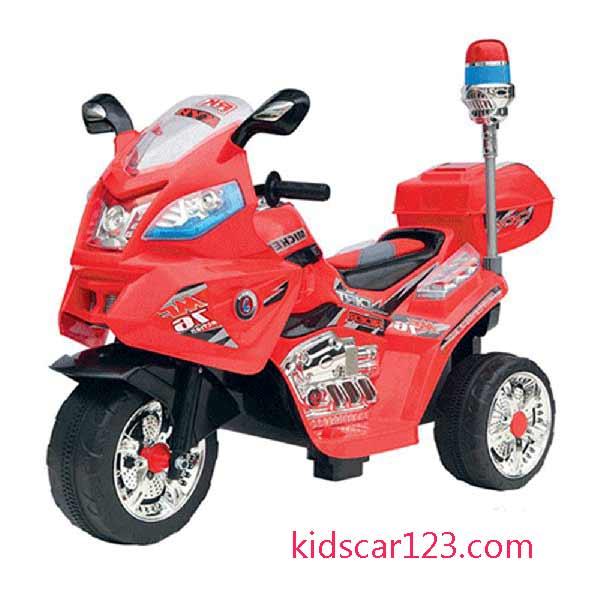 Xe môtô điện trẻ em - JT 015 màu đỏ