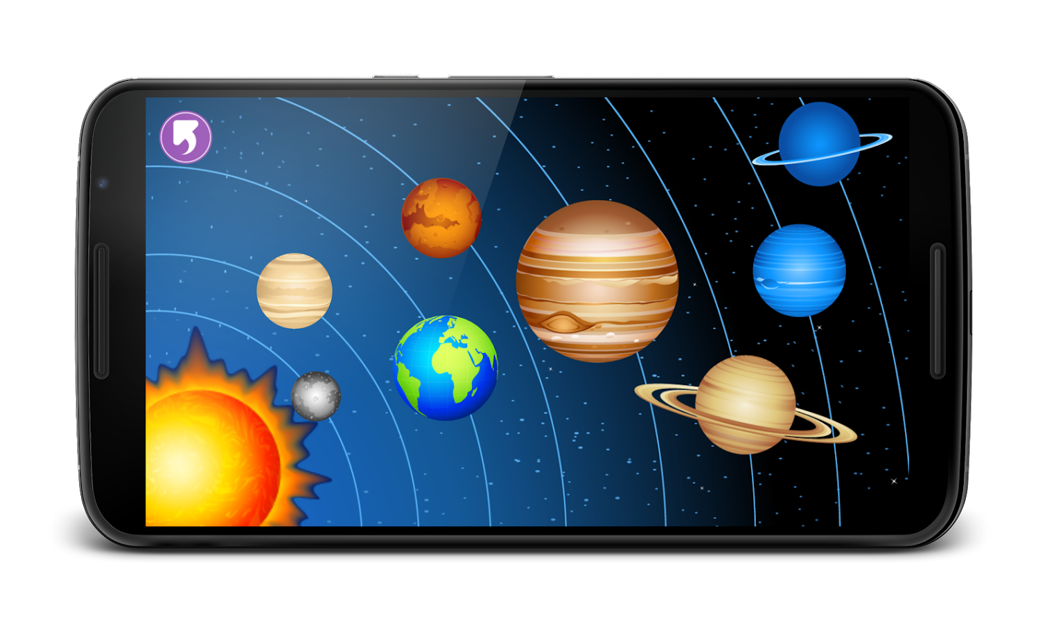 Planets for Kids Solar system - Android Apps on Google Play