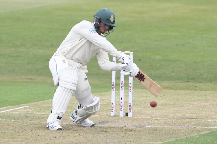 Quinton de Kock of the Proteas during day 1 of the 1st Test match between South Africa and Sri Lanka at Kingsmead Stadium on February 13, 2019 in Durban, South Africa.