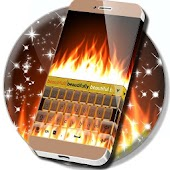 Fire Theme Keyboard