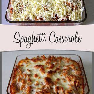 Spaghetti Casserole.