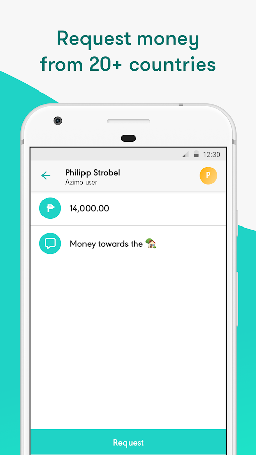 Azimo Money Transfer- screenshot