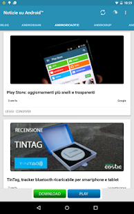 Notizie su Android™- screenshot thumbnail