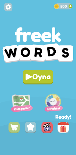 Freek Words - Word Connect Puzzle screenshot 1