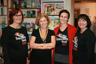 Photo: Freche Leserezepte - Workshop mit der großartigen Brigitte Weninger in der Zweisprachigen Bibliothek Kroatisch Minihof
