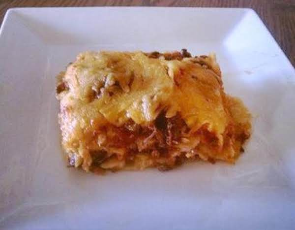 Venison Enchilada Casserole