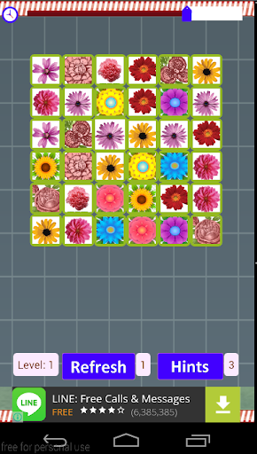 Flowers Matching Games