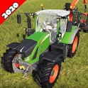 Tractor Trolley Transporter 3D 2020 icon