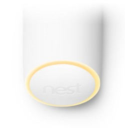 Nest secure detect light ring yellow image.
