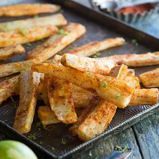 Spicy Yuca Fries.