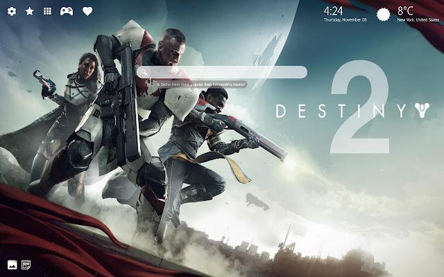 Destiny 2 HD Wallpaper New Tab