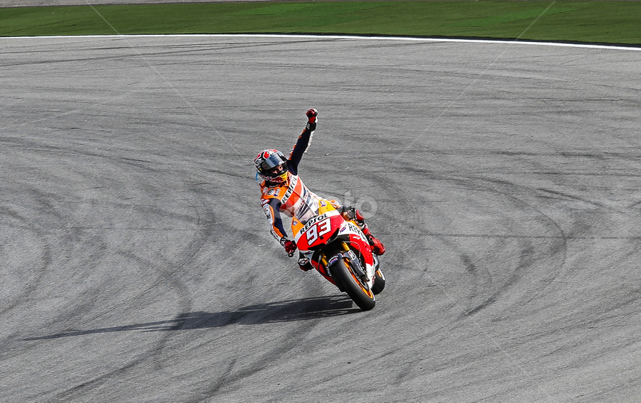 Marques by Andre Trikresnanda - Sports & Fitness Motorsports ( motogp, sport )