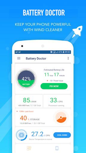 phone cooler, battery saver 3.2 screenshots 1
