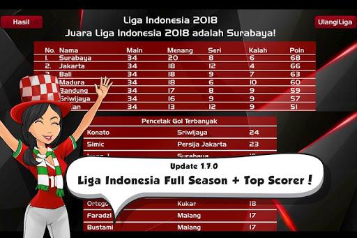 Liga Indonesia 2018 u26bdufe0f Piala Indonesia 1.8.5 screenshots 10