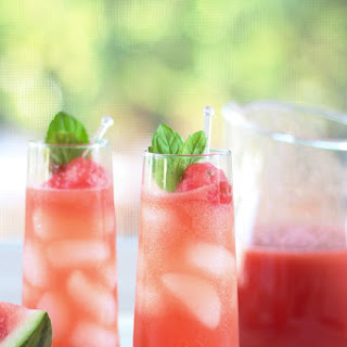 Perfect Summer Watermelon Shrub
