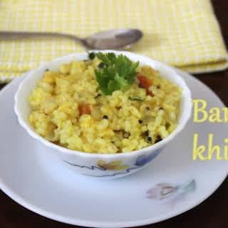 Barley Khichdi.