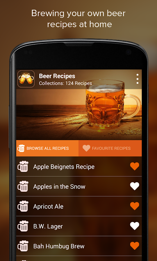Beer Recipes- screenshot