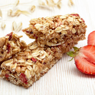 Strawberry Breakfast Bars