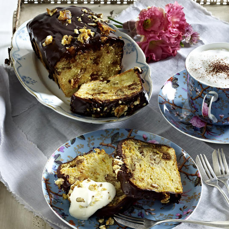 Sweet Butternut Squash Bread with Chocolate and Walnut Brittle Recipe ...
