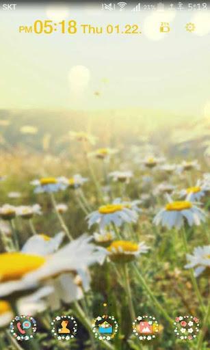 玩個人化App|Spring Flowers Launcher Theme免費|APP試玩