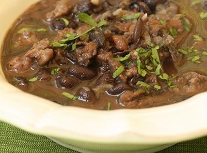 Black Bean And Sausage Soup Recipe