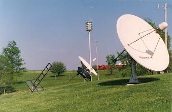Photo: Earth Station WB9OTX