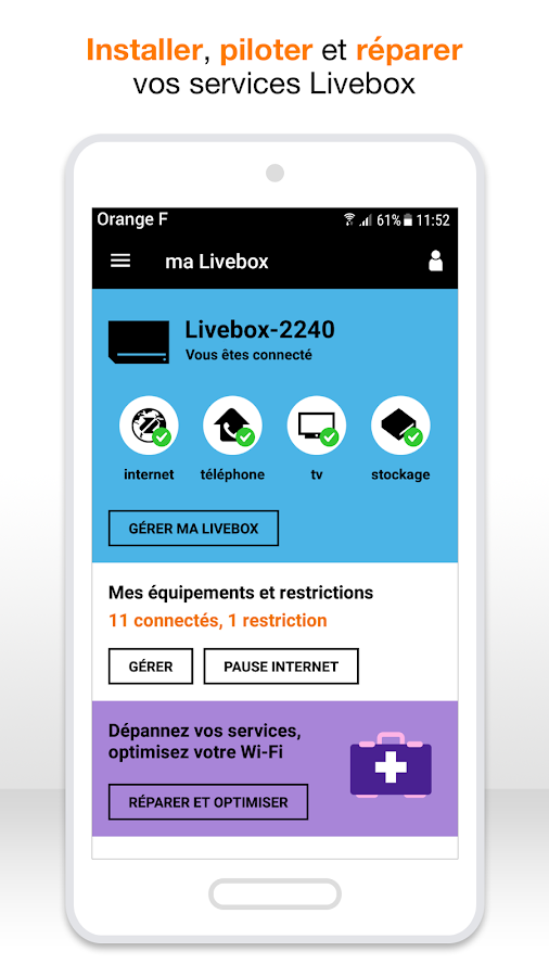 ma livebox android apps on google play. Black Bedroom Furniture Sets. Home Design Ideas