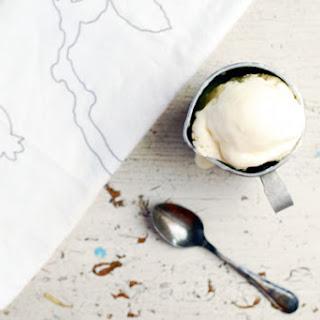 Lemon Verbena Buttermilk Ice Cream