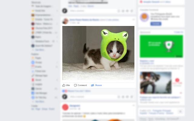 Desver para Facebook