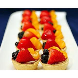 Bing's Fruit Tarts.