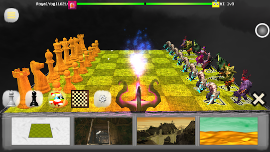 Chess 3D Free : Real Battle Chess 3D Online App Download For Android and iPhone 5