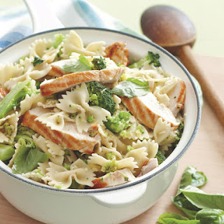 Broccoli Basil Pasta with Chicken.