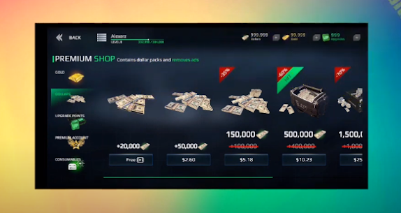 Modern Warships Sea Battle Hack Dollar Gold Upgrades Cheat Android IOS Apk Mod 4