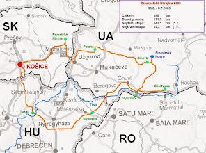 Photo: Mapa trasy