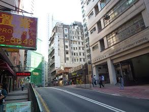 Photo: Walking up 堅道Cane Rd.