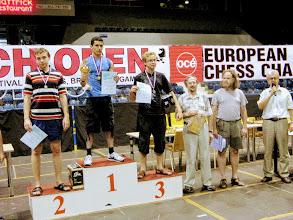 Photo: Награждение победителей европейского первенства среди любителей по быстрым шахматам