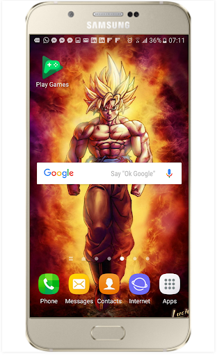 Fanart DBS and Dragon Z Live Wallpaper 1.2 screenshots 5