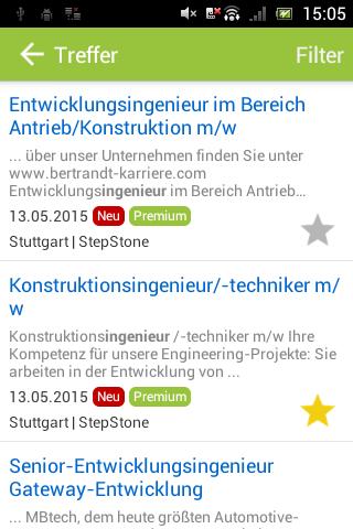 JOBworld Jobsuche- screenshot