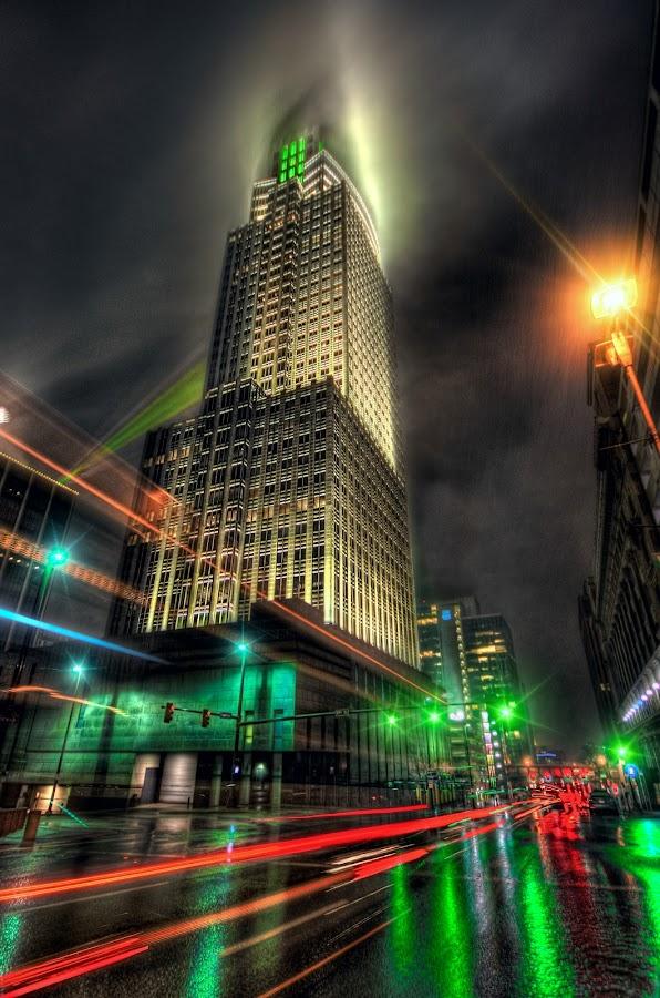 by DE Grabenstein - City,  Street & Park  Night