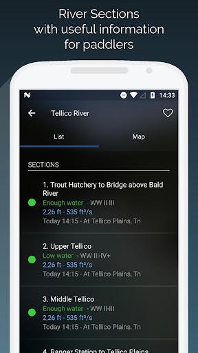 RiverApp - River flows  screenshots 3