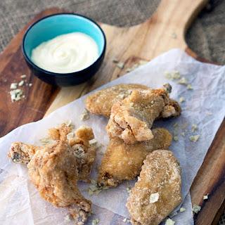 Wasabi Chicken Wings, Yuzu Mayo & Wasabi Salt