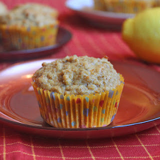 Back At Home With Lemon Ginger Tea Muffins