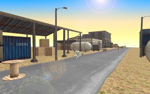 Crazy Dog Racing Stunt Fever Simulator 3D - náhled
