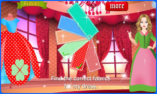 Sewing Games - Mary the tailor filehippodl screenshot 8