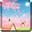 Sakura Live Wallpaper FREE icon