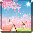 GRATIS Sakura Live Wallpaper icon