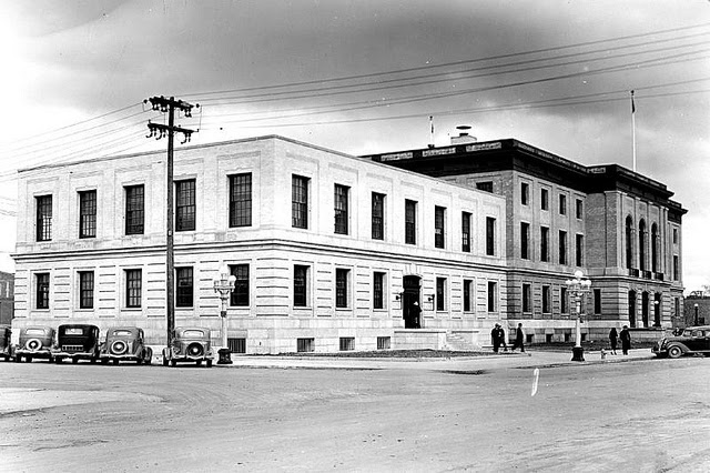 Great Falls, MT post office, 1938