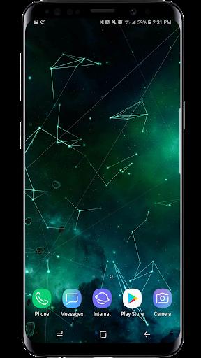 Space Particles 3D Live Wallpaper  screenshots 17