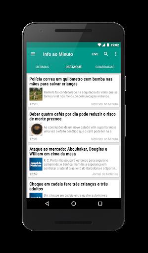 Informau00e7u00e3o ao Minuto - Notu00edcias de Portugal 8.1.2-pt screenshots 1